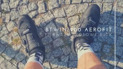 Pierwsze szosowe buty – BTWIN 900 Aerofit