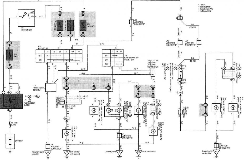 Reverse Light Wiring Diagram