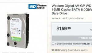 Current HDD prices