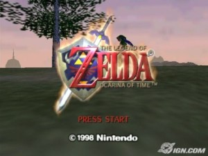 OOT Title Screen
