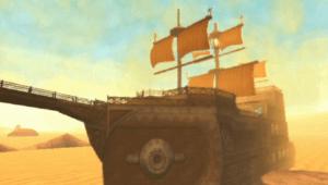 Sand Ship