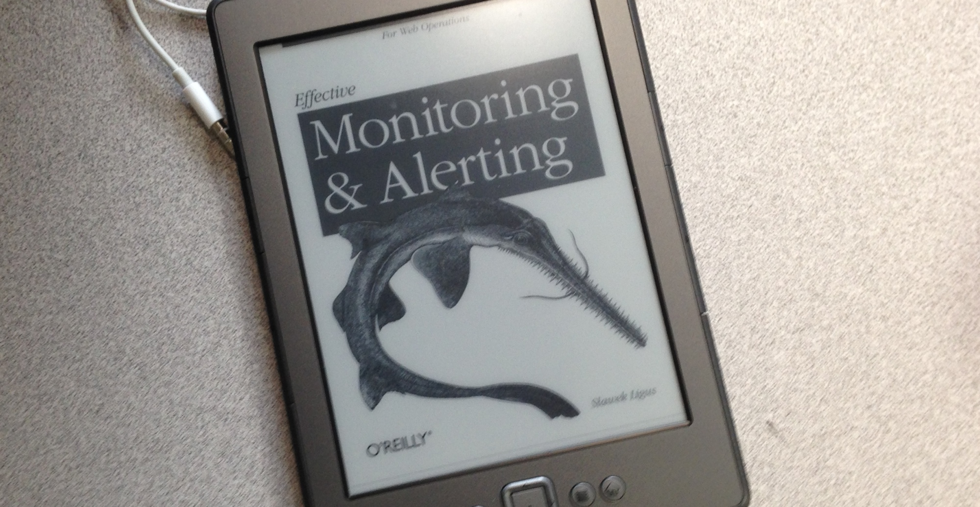 Monitoring Book Image