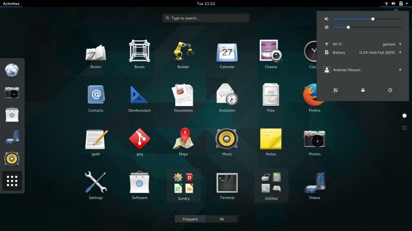 GNOME 3.16 visuals