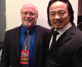 with bass Liang Li following Pittsburgh Symphony's Spring for Music concert, Carnegie Hall (2014)