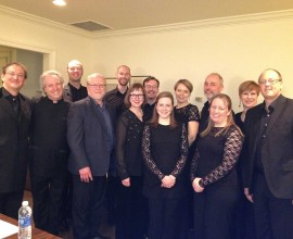 With Manfred Honeck, Peter Phillips, and The Tallis Scholars