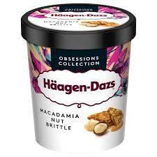Haagen dazs Macadamia Nut brittle