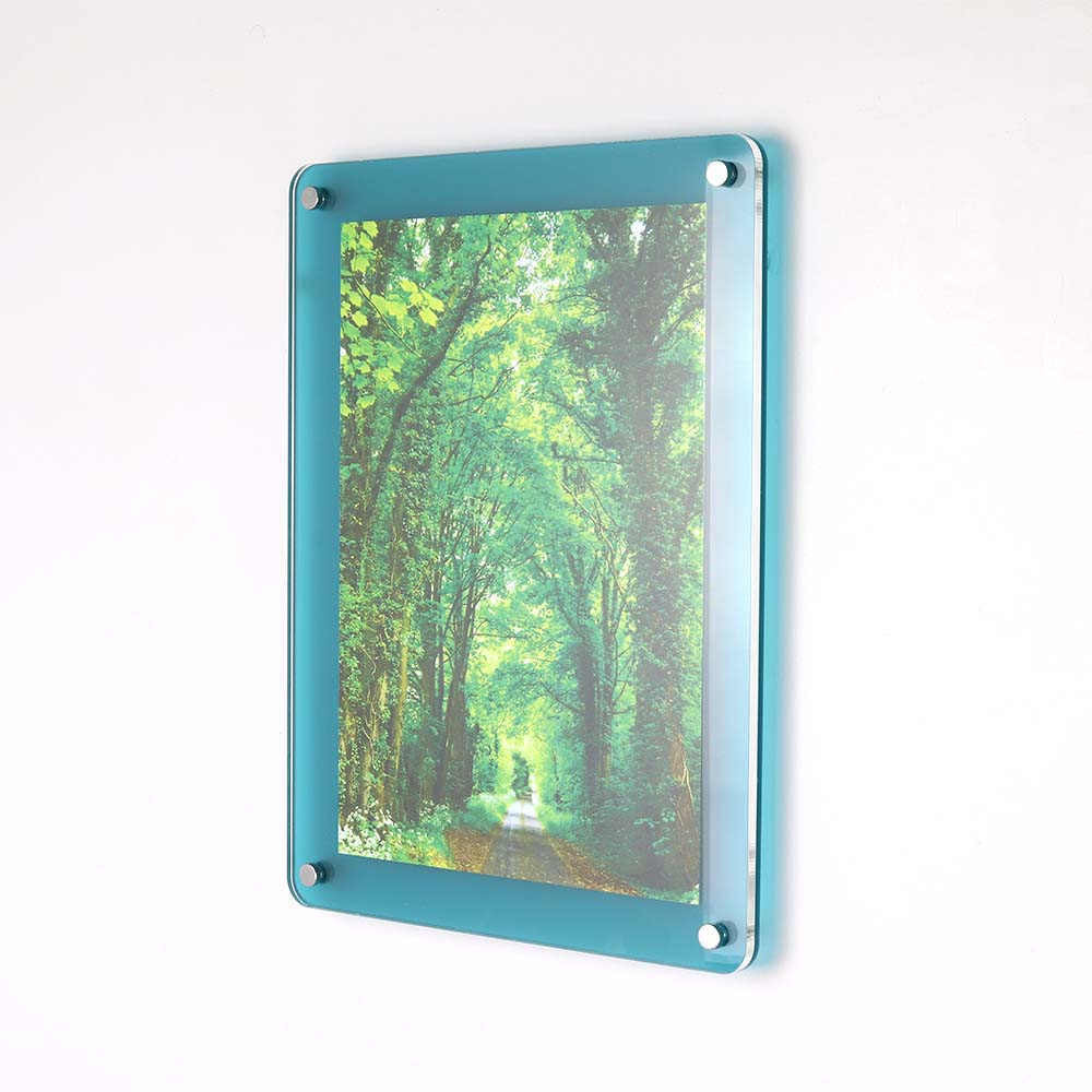 Wall Mounted Acrylic Photo Frame