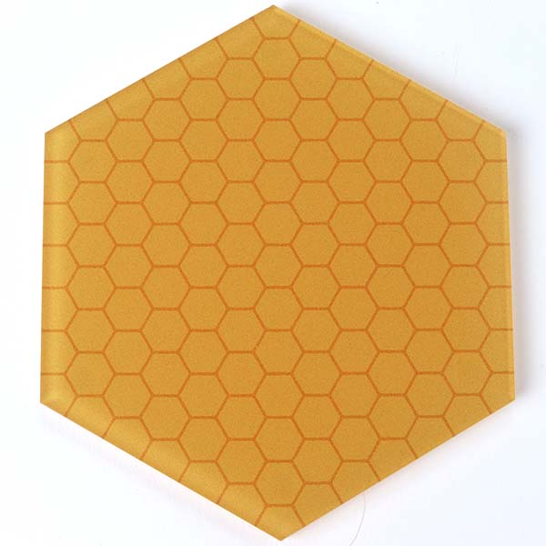 Honeycomb Hexagon Coaster