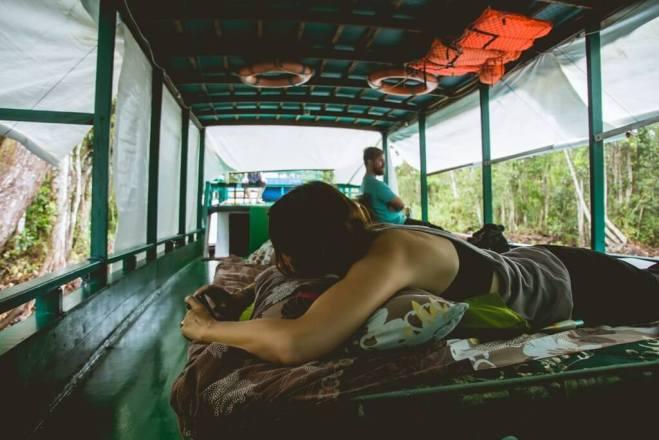 Borneo life on the boat