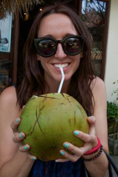 Nuts first coconut.