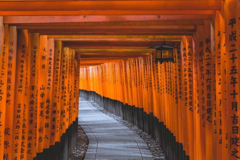 Fushimi Inari Tori Gates