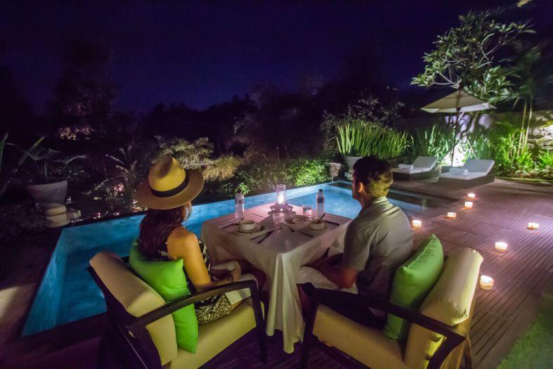 The Sanctoo Villa Romantic Dinner