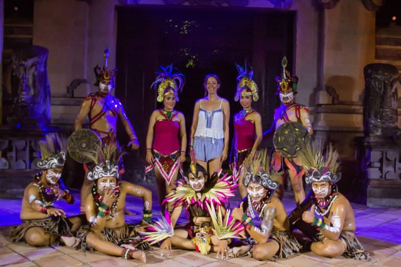 Bali Zoo Fire Show