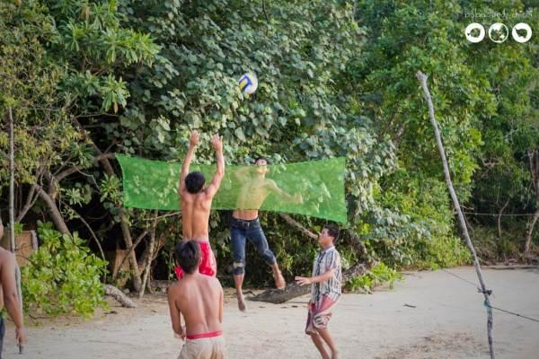 Khmer-Volleyball