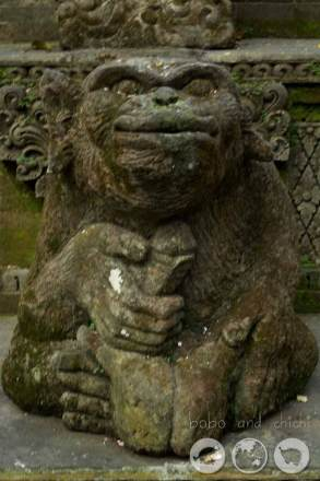 Monkey Penis Statue?