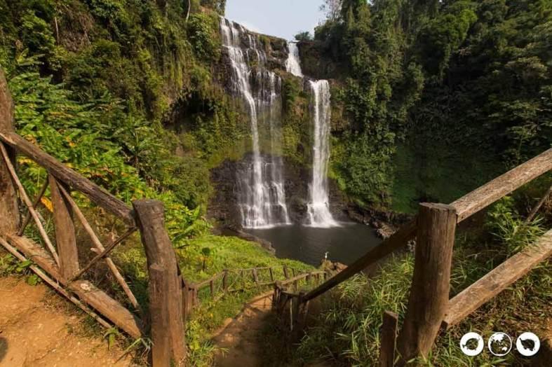 Tad Yuang Waterfall Laos
