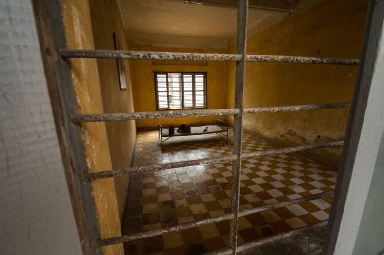 Tuol Sleng Torture room