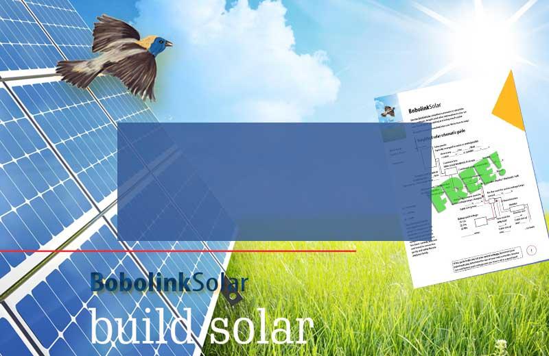 DIY solar guide