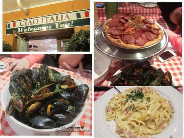 【澳洲】柏斯。Day 10-2 Perth 好吃的義大利餐廳 —-CIAO ITALIA!!
