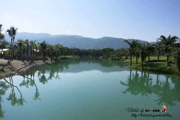 【花蓮旅遊】雲山水自然生態農莊。彷彿人間仙境的湖光山色!
