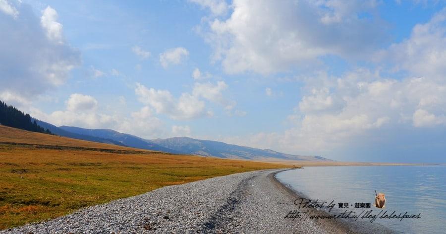 【2014 中國新疆】Day 17-2 博樂賽里木湖。天山山脈中的藍寶石。