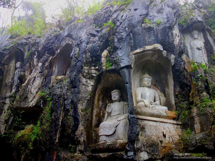 杭州,靈隱寺|濟公出家地,千年古剎和藝術寶窟飛來峰。