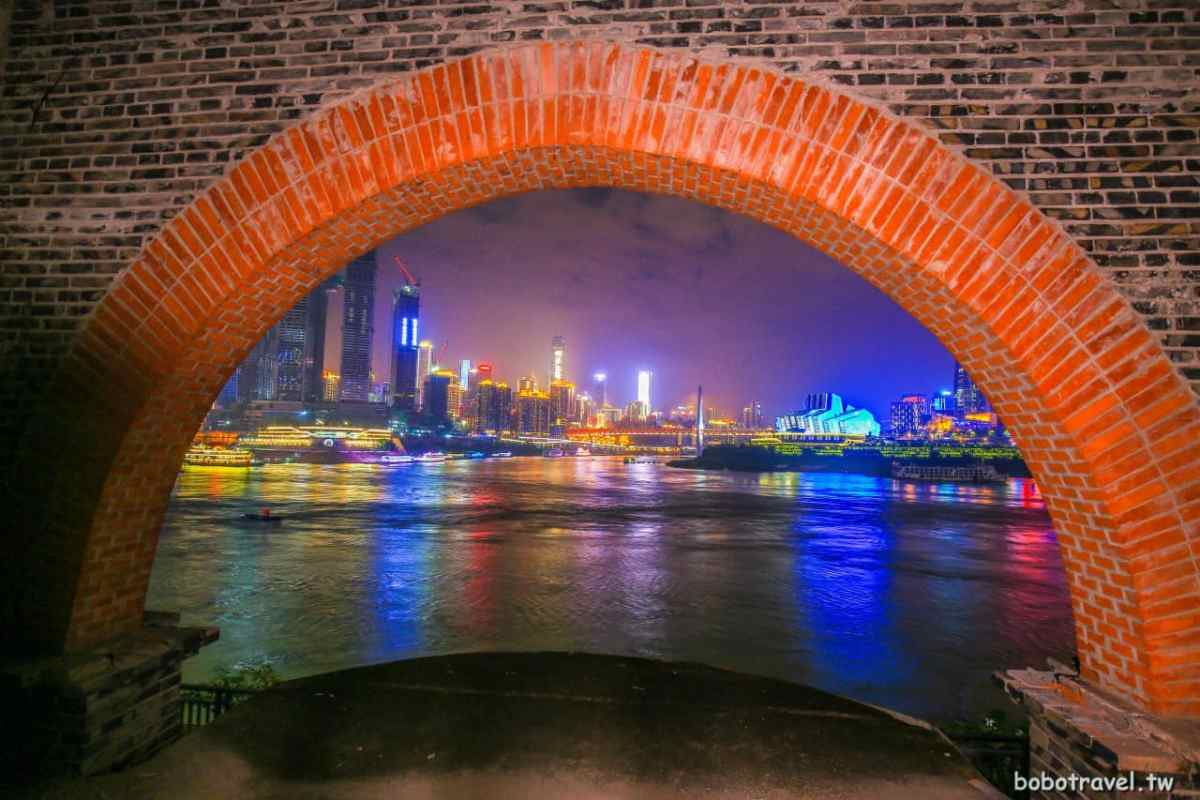 batch 重慶夜景
