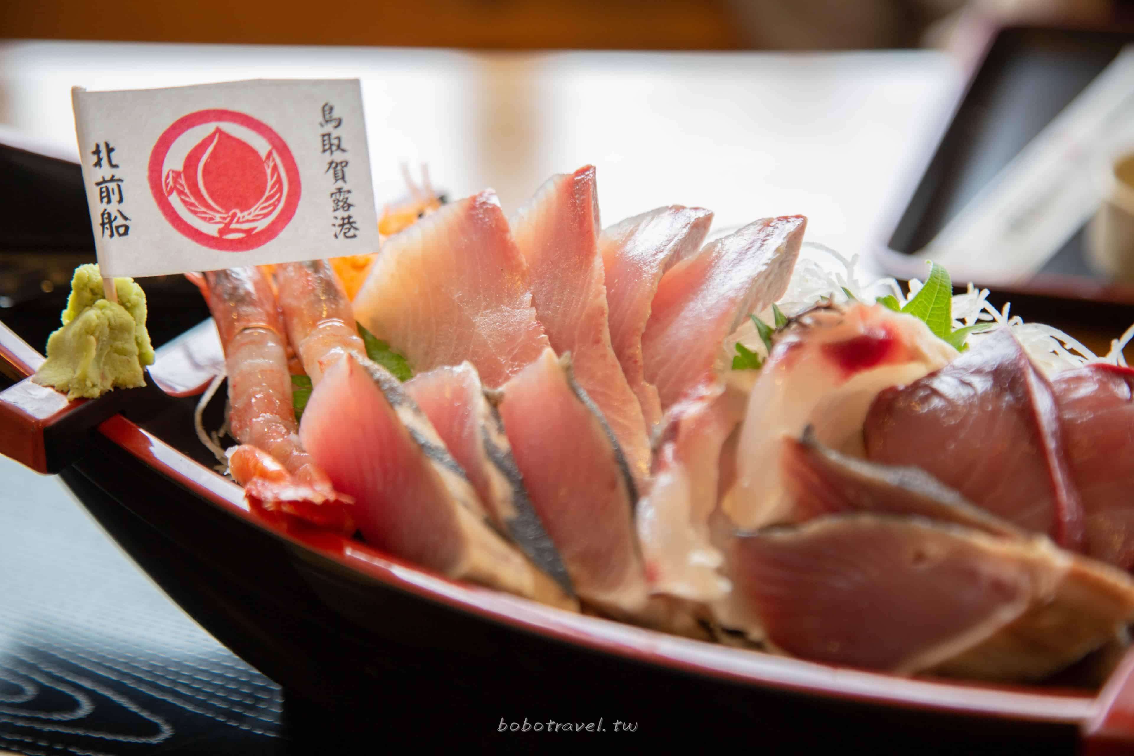鳥取美食、浜下商店「賀露港・市場食堂」|浮誇生魚片定食只要980日圓!在地人才知道的美味秘密