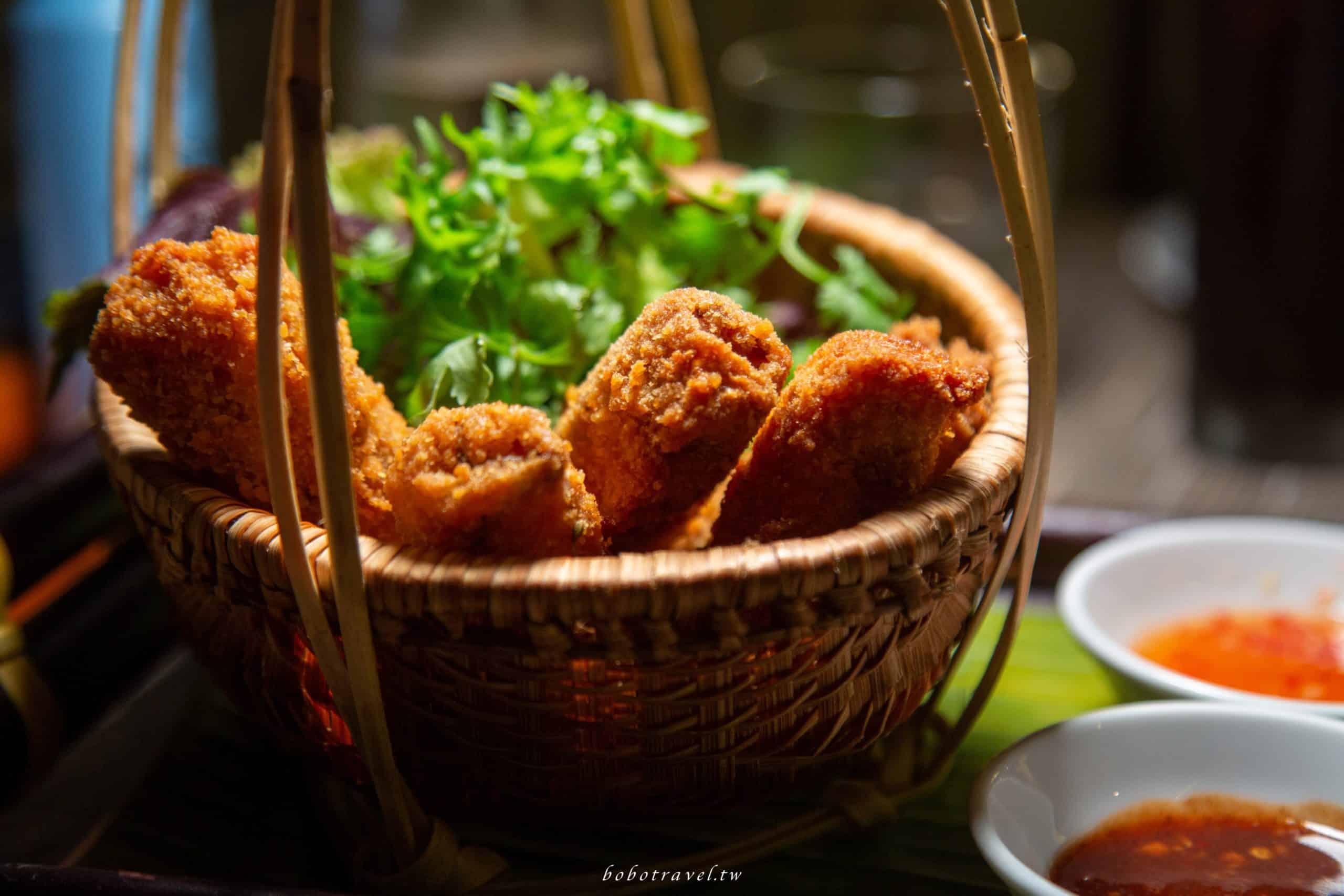 越南、富國島美食 The Spice House|精緻手法詮釋道地越南料理,有浪濤陪伴的美食饗宴