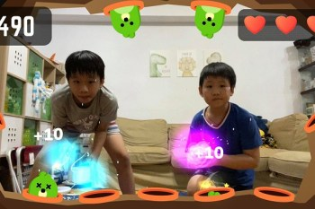 在家運動放電! 免費AR運動遊戲【Active Arcade 2.0】iOS、Android都能玩