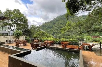 新北烏來景觀餐廳》La Villa Wulai. 湖景第一排湖岸咖啡館, 隱身在民宅之中浪漫餐廳