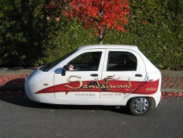 Auto Decal for Sandalwood Salon and Spa