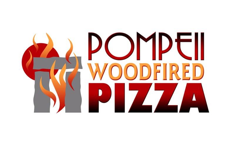 Pompeii Woodfired Pizza - Logo Design by Bob Paltrow Design