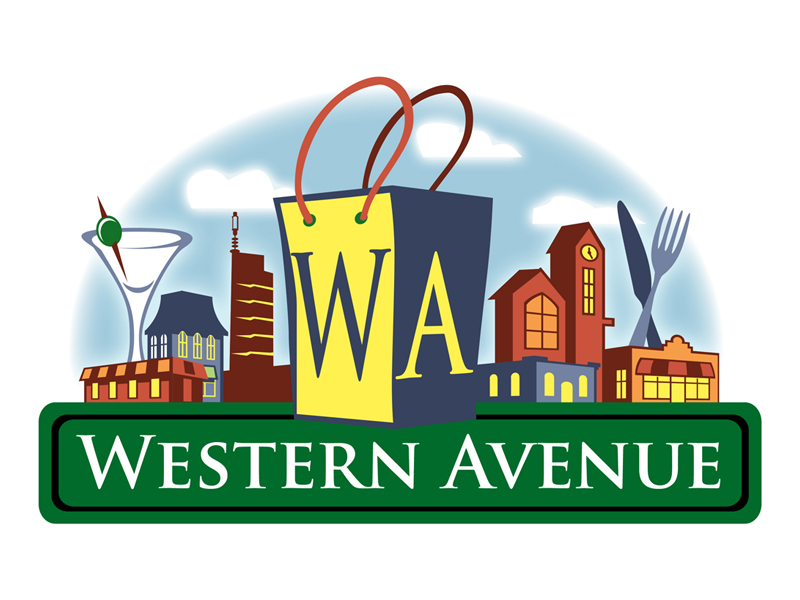 LOGO DESIGN - Western Avenue Shopping District, Oklahoma City