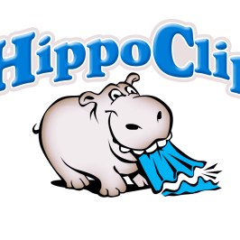 """Hippo Clip"" Heavy-Duty Clamp/Clip - LOGO DESIGN by Bob Paltrow Design"