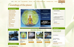 Soundings of the Planet - Bob Paltrow Web Design Bellingham WA