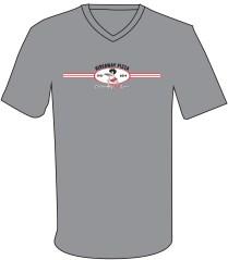 57 Shirt - Modern Oval Insignia on Gray