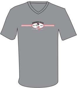 57 Shirt - Modern Oval Insignia on Gray