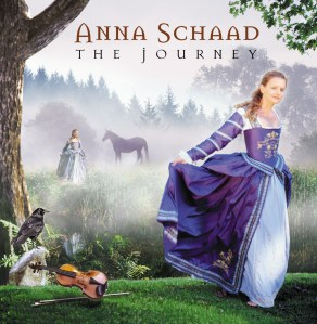 The Journey CD Design by Bob Paltrow Design. Client: Anna Schaad/Raven Fiddle Productions