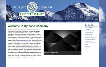 Bob Paltrow Web Design - Hythane Co - Bellingham WA 2