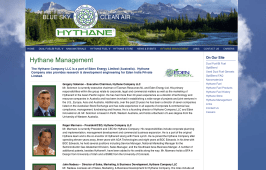 Members of the Board - Hythane Company; Natural Gas - Bob Paltrow Web Design Bellingham WA