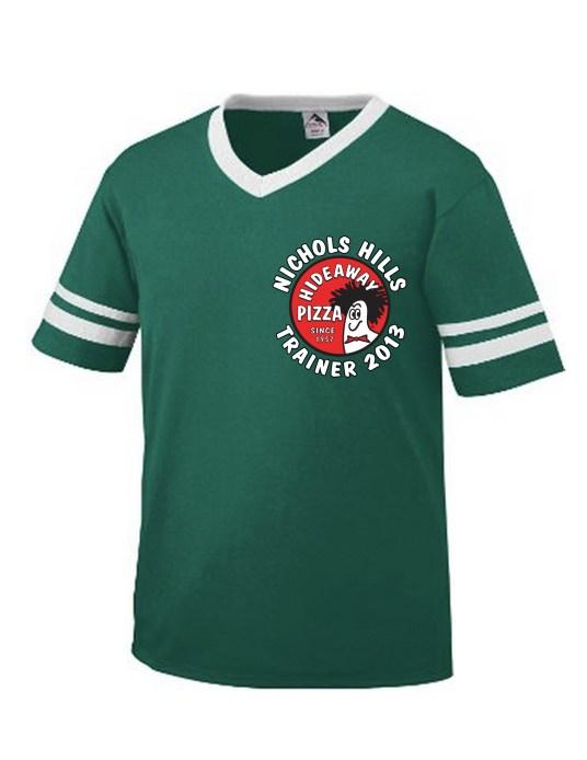 Green Shirt-TRAINER 2013 + NICHOLS in white