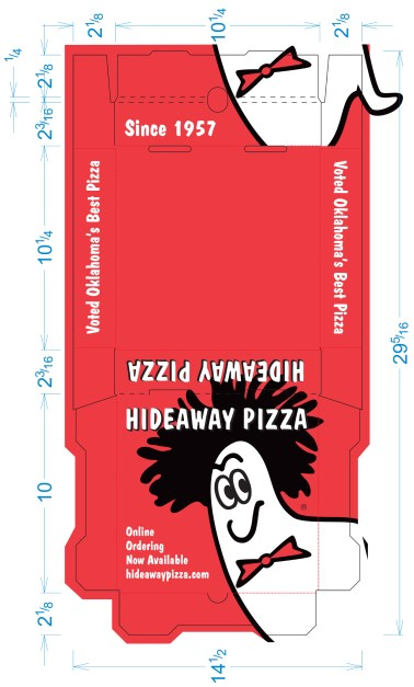 Pizza Box Mechanical for Hie