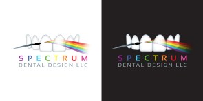 Spectrum Dental Design Lab Logo by Bob Paltrow Design, Bellingham WA