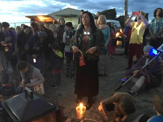 Ceremony at Glass Beach, Bellingham