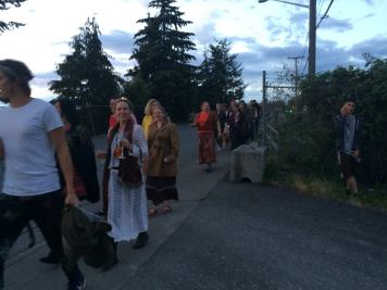 On the Procession