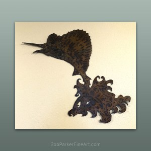 BobParkerFineArt.com | Fine Metal Art Designs by Bob Parker ~ DESIGN-2110