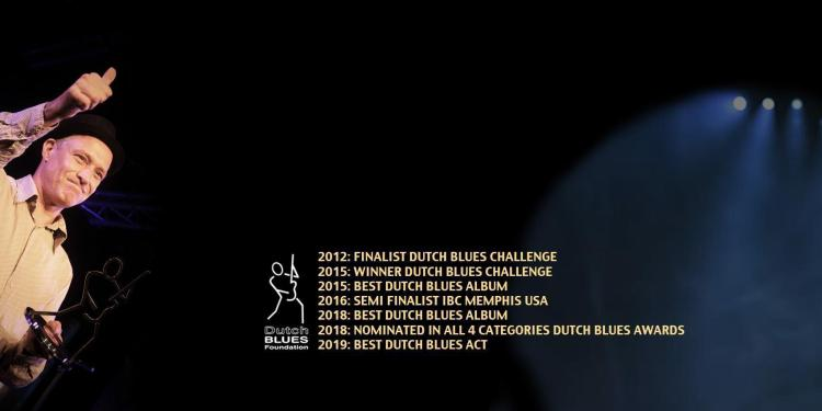 Big Bo - awards - Best dutch blues award