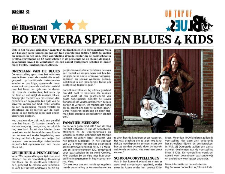 Blues 4 Kids, KidsBlues, Big Bo