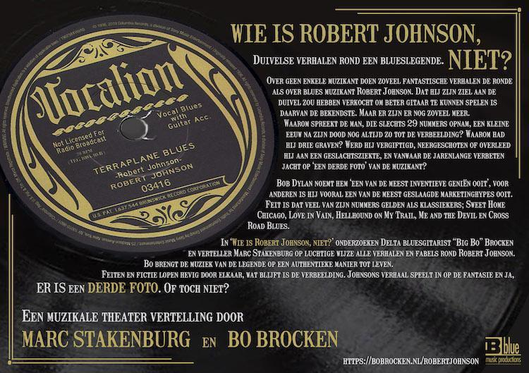 Marc Stakenburg en Bo Brocken - Wie is Robert Johnson, niet?